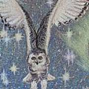 Celestial Swoop Art Print by Thomas Maynard