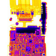 Cell Phone Art Print
