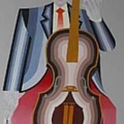 Cellist Art Print
