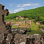 Cemetery In France Art Print
