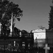 Cemetery- Natchez Mississippi Art Print