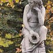 Cemetery Statue 1 Art Print
