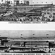 Centennial Expo, 1876 Art Print by Granger