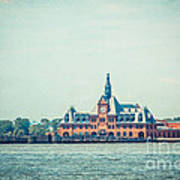 Central Railroad Terminal Of New Jersey Art Print