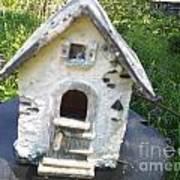 Ceramic Birdhouse Art Print
