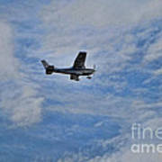 Cessna In Flight Art Print