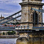 Chain Bridge  Budapest Art Print