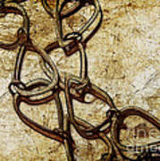 Chain Links Print by Judi Bagwell