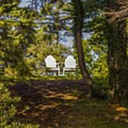 Chairs In The Sun Art Print