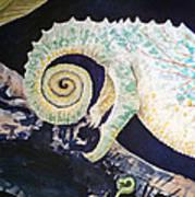 Chameleon Tail Art Print