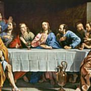 Champaigne: Last Supper Art Print