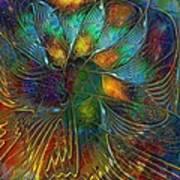 Chaotic Colour Art Print