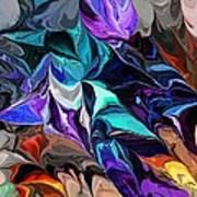 Chaotic Visions Art Print