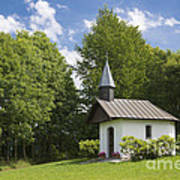 Chapel In Bavaria Germany Art Print