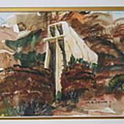 Chapel In Thcliffs Art Print