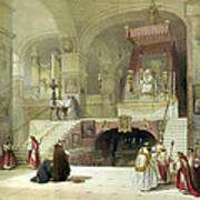 Chapel Of The Annunciation Nazareth Art Print