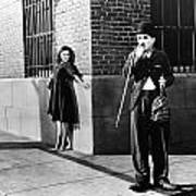 Chaplin: Modern Times, 1936 Art Print