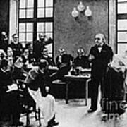 Charcot Demonstrating Hysterical Case Art Print