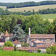 Charente Village Art Print