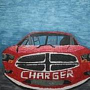 Charger Art By My Son Art Print