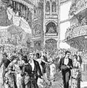 Charity Ball, 1880 Print by Granger