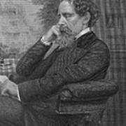 Charles Dickens, English Author Art Print