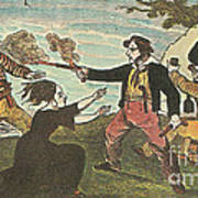 Charles Gibbs, American Pirate Print by Photo Researchers