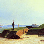 Charleston Battery, 1864 Art Print