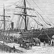 Charleston: Cotton Ship Art Print
