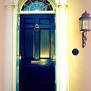 Charleston Door 1 Art Print
