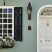 Charleston Doorway - D006767 Art Print