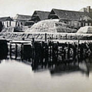 Charleston South Carolina - Vanderhorst Wharf - C 1865 Art Print