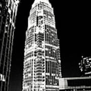 Charlotte North Carolina Bank Of America Building Art Print