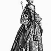 Charlotte Sophia (1744-1818) Art Print by Granger