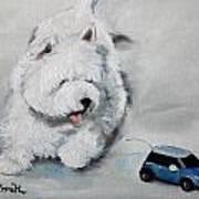 Chasing Cars Art Print