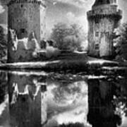 Chateau De Largoet Art Print