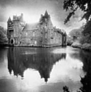 Chateau De Trecesson Art Print