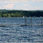 Chautauqua Lake  Art Print