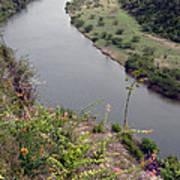 Chavon River View Art Print by Chris Hill