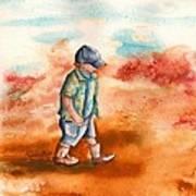 Chayton's Boots Art Print