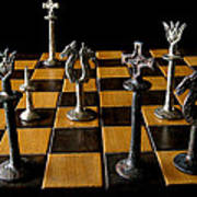 Checkmate Art Print by David Salter