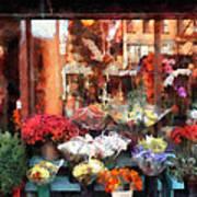 Chelsea Flower Shop Art Print