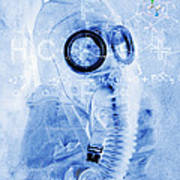 Chemical Warfare Art Print