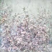 Cherry Blossom Grunge Art Print