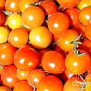 Cherry Tomatoes Art Print