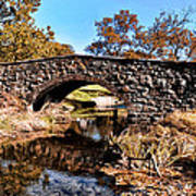 Chester County Bow Bridge Art Print