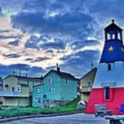 Cheticamp In Cape Breton Nova Scotia Art Print