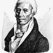 Chevalier De Lamarck Art Print