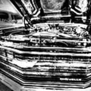 Chevelle - Black And White Art Print