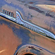 Chevrolet Apache 31 Pickup Truck Emblem Art Print